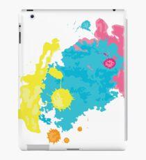 summer color splashes iPad Case/Skin