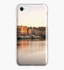 Long Exposure Sunset: The Shore, Edinburgh iPhone Case/Skin