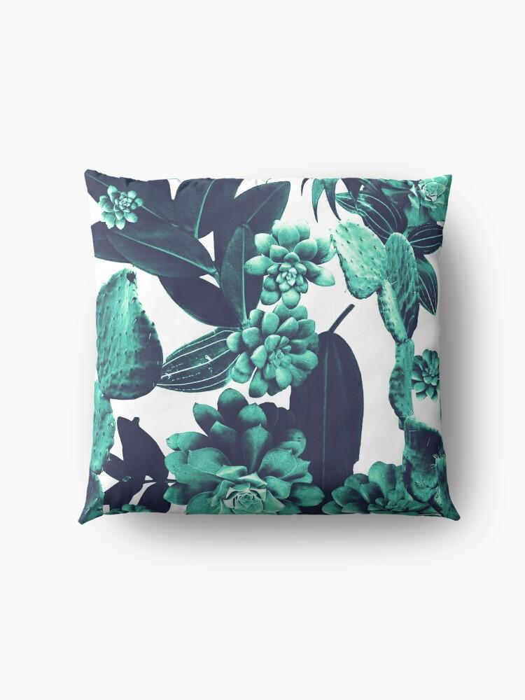 Alternate view of Cactus Design Floor Pillow
