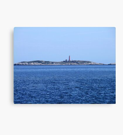 Sambro Island Light Canvas Print