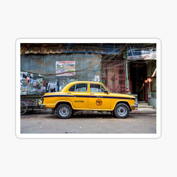Taxi Calcutta Sticker