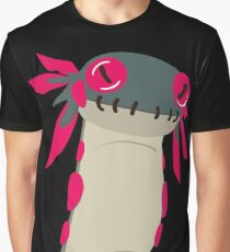 Camiseta gráfica El Wiggle Worm de Monster Hunter World