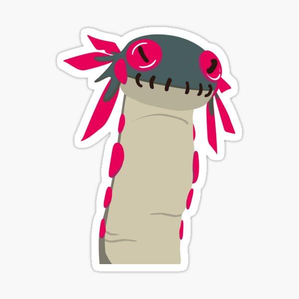 Le Wiggle Worm de Monster Hunter World Sticker