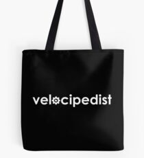 Velocipedist Tote Bag
