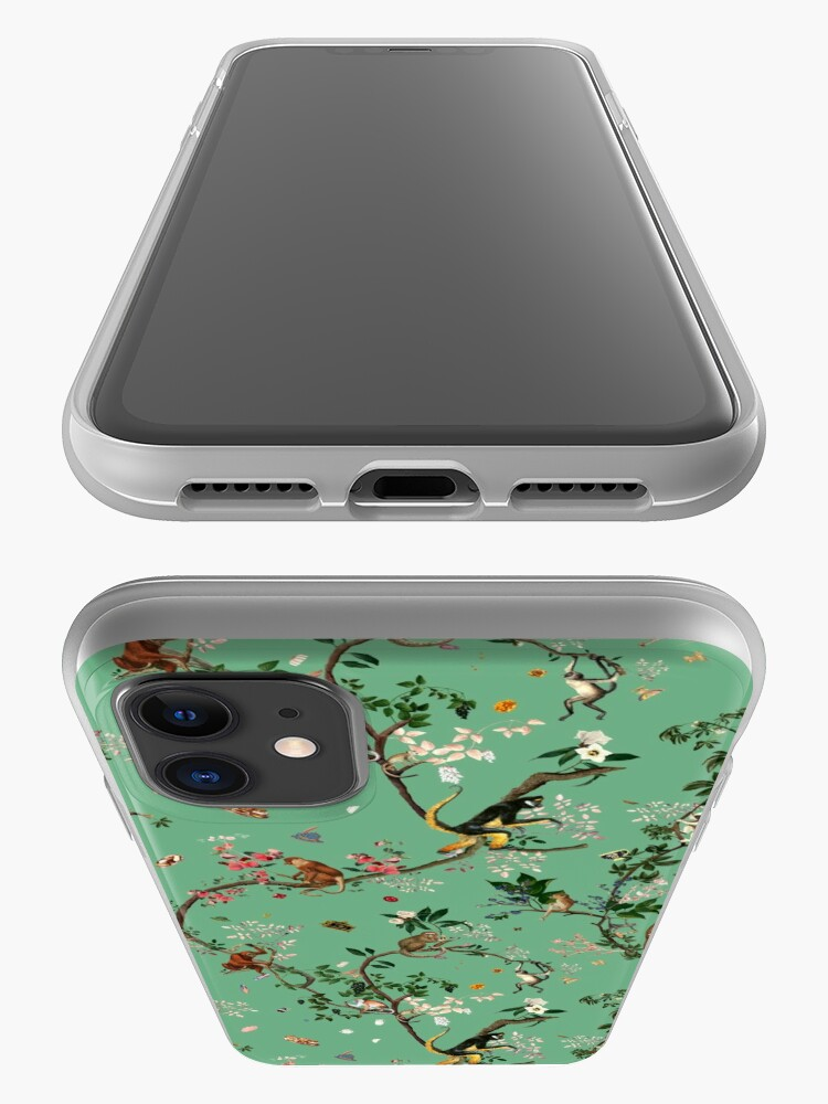 Alternate view of Monkey World Green iPhone Case & Cover