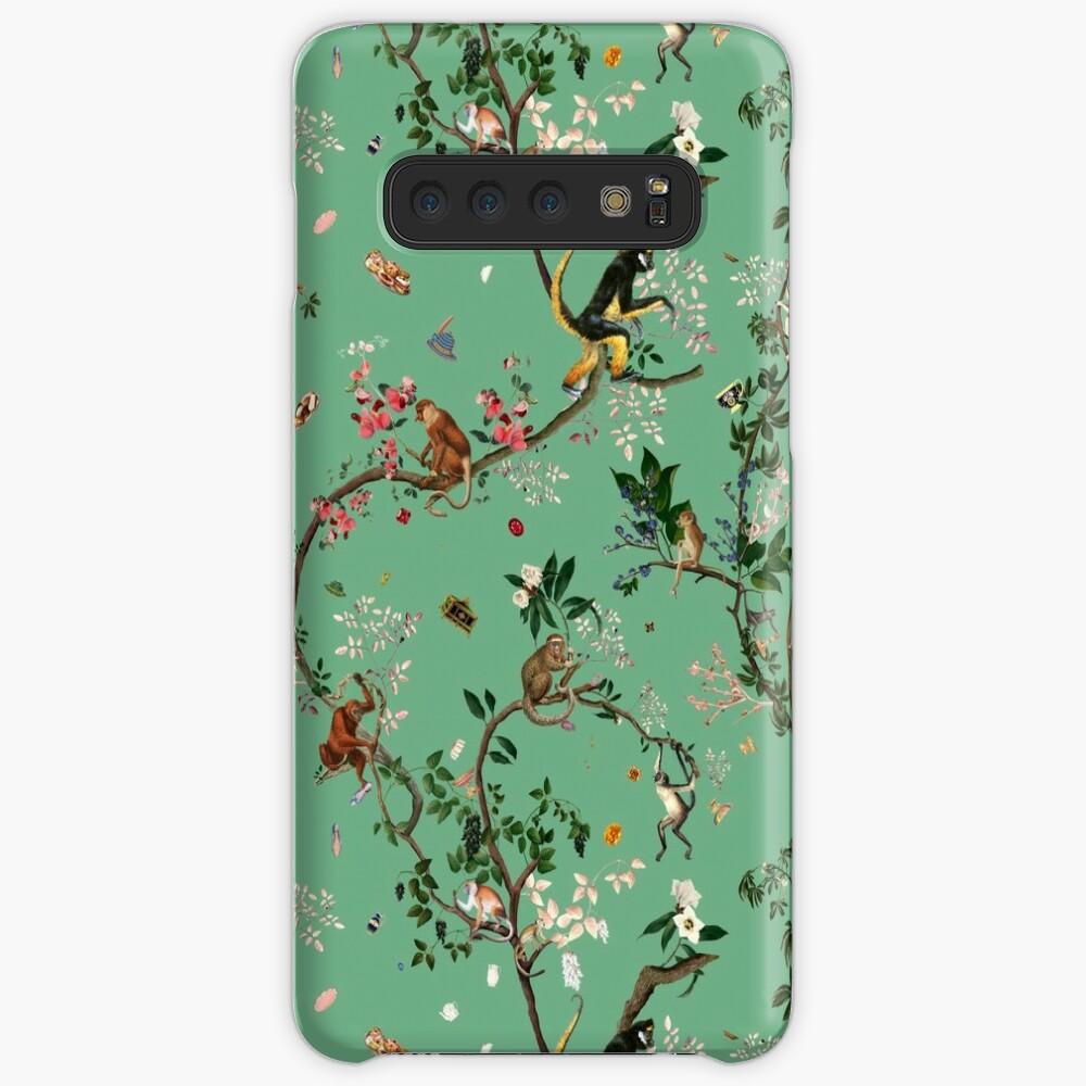 Monkey World Green Case & Skin for Samsung Galaxy