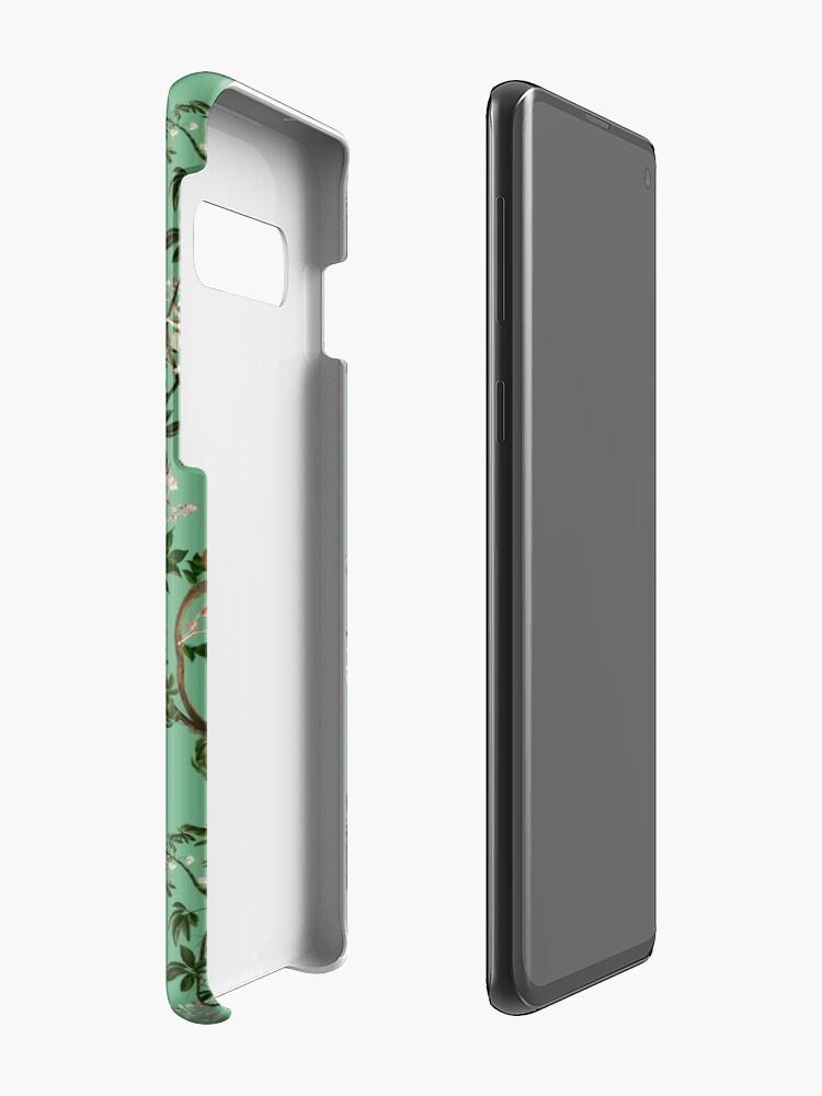 Alternate view of Monkey World Green Case & Skin for Samsung Galaxy