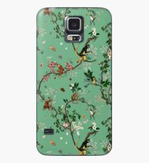Funda/vinilo para Samsung Galaxy Monkey World Green