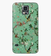 Affenwelt Grün Hülle & Klebefolie für Samsung Galaxy