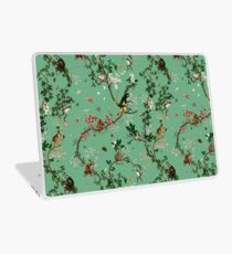 Monkey World Green Laptop Skin
