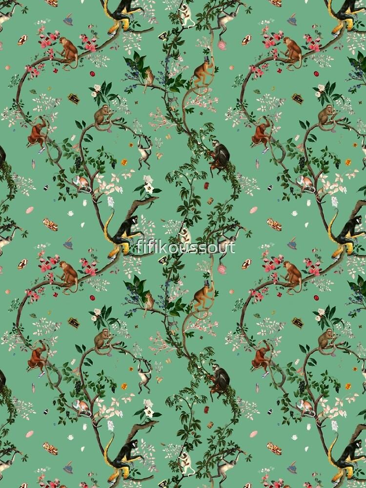Monkey World Green by fifikoussout