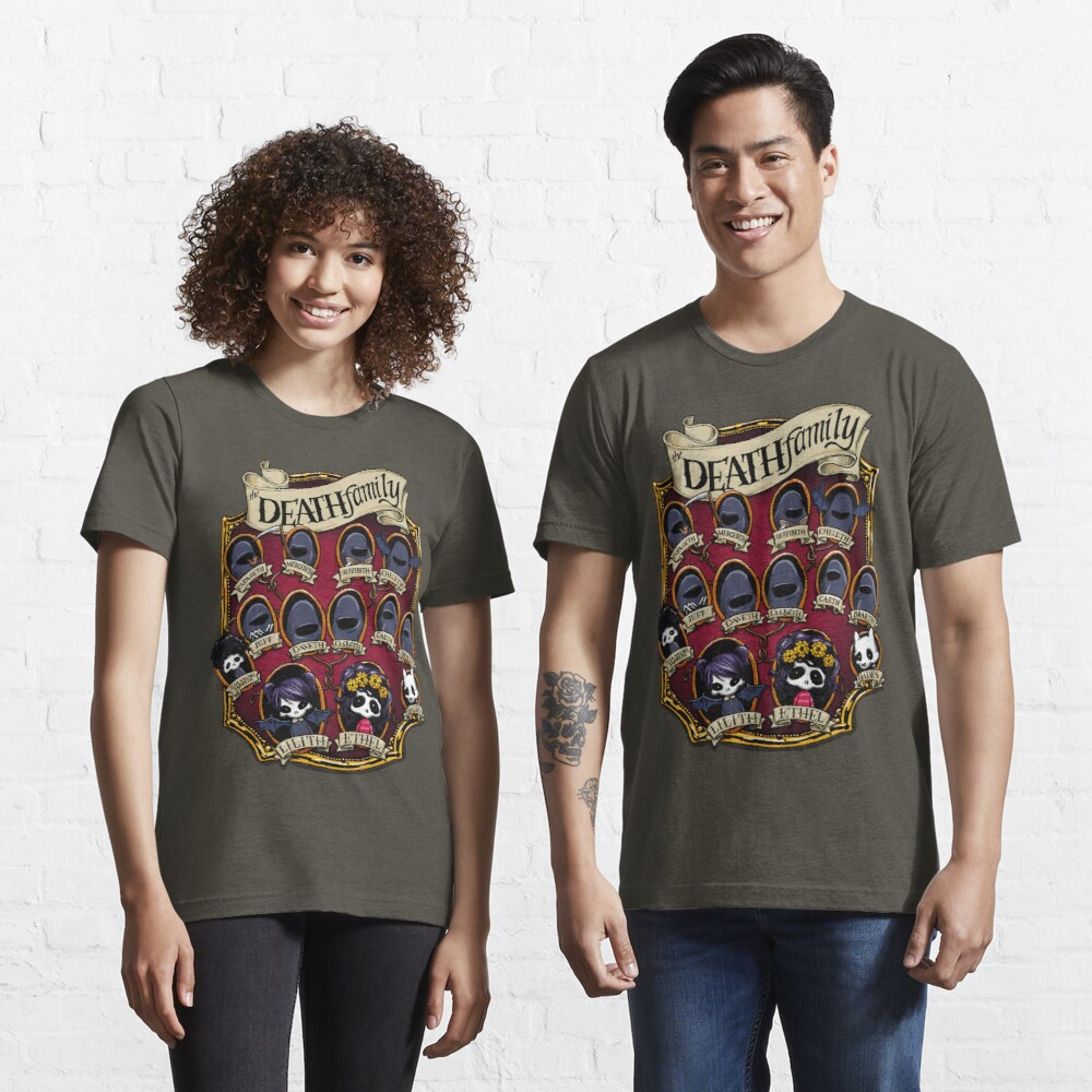 Death Family Tree - The Life of Ethel Death Essential T-Shirt