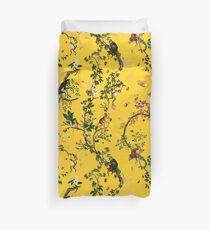 Monkey World Yellow Duvet Cover