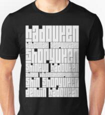 Techniques - Ryu Black Unisex T-Shirt