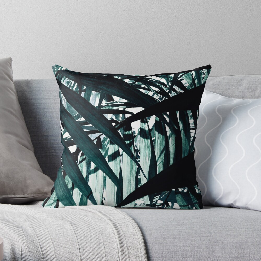 Inside of the Jungle Throw Pillow
