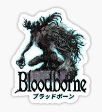 BloodBorne02 Sticker