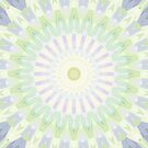 Rhythm of Spring Mandala by Kelly Dietrich