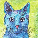 Blue Cat by Juhan Rodrik