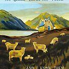My Sheep Hear My Voice by Patricia Howitt