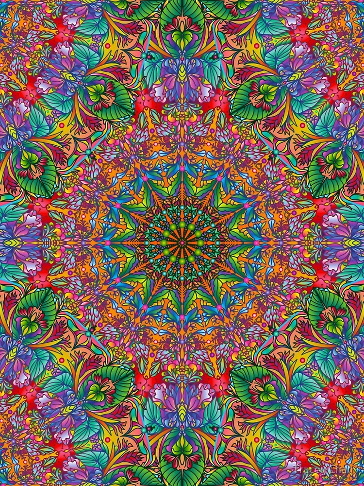 Tropical Mandala by traceychan