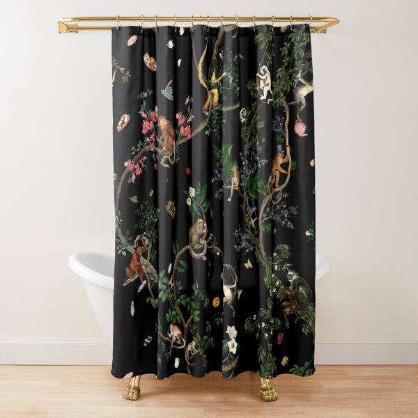 Monkey World Shower Curtain