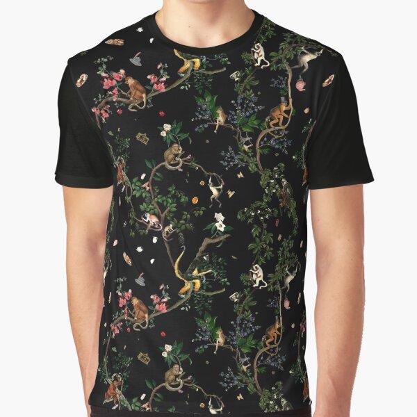Monkey World Graphic T-Shirt