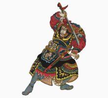 Samurai Draws His Sword