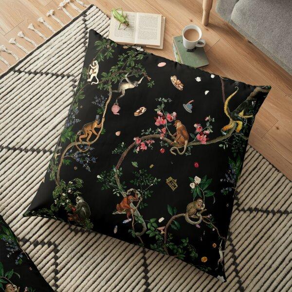 Monkey World Floor Pillow