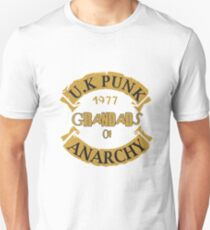 UK Punk Grandads of Anarchy  Unisex T-Shirt