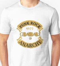 Punk Rock Grandads of Anarchy  Unisex T-Shirt