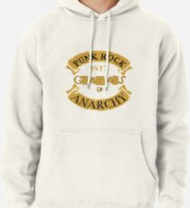 Punk Rock Grandads of Anarchy  Pullover Hoodie