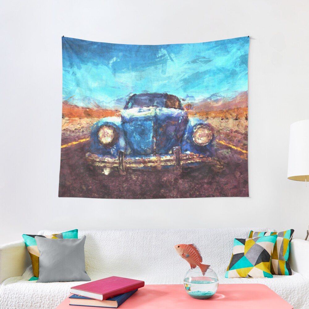 On The Road Tapestry