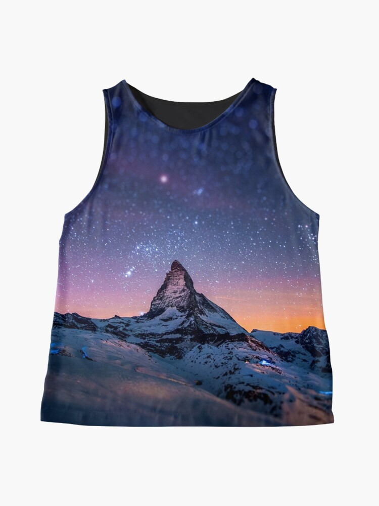 Alternate view of Mountain Reach the Galaxy Sleeveless Top