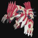 Andy W's Primal Groudon (No outline) by eevilmurray