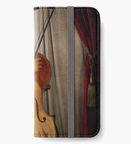 Der Musiker iPhone Flip-Case
