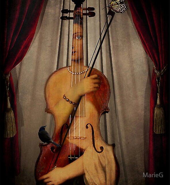 The Musician by MarieG