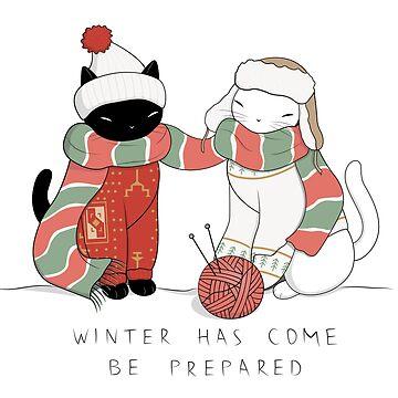 Winter Cats by runcatrun