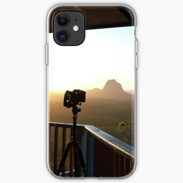 Waiting for sunset iPhone Soft Case