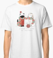Winter Cats Classic T-Shirt