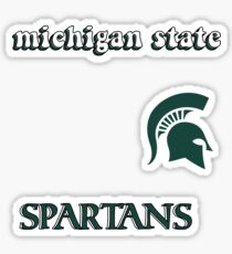 Michigan State University Minis Sticker