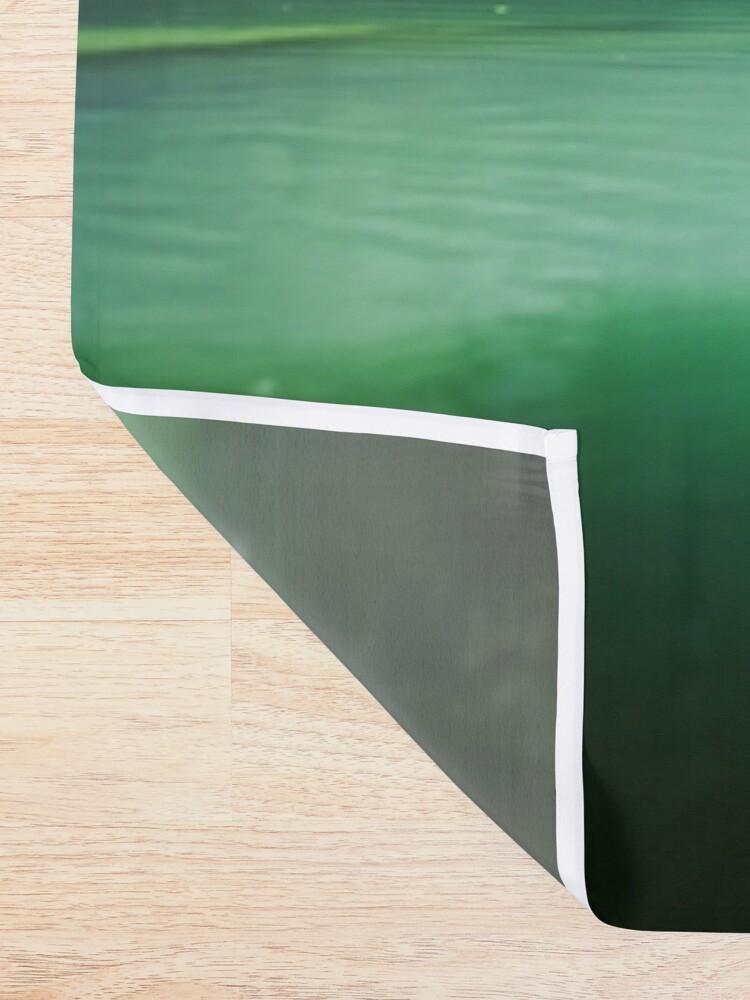 Alternate view of Lagoon Shower Curtain