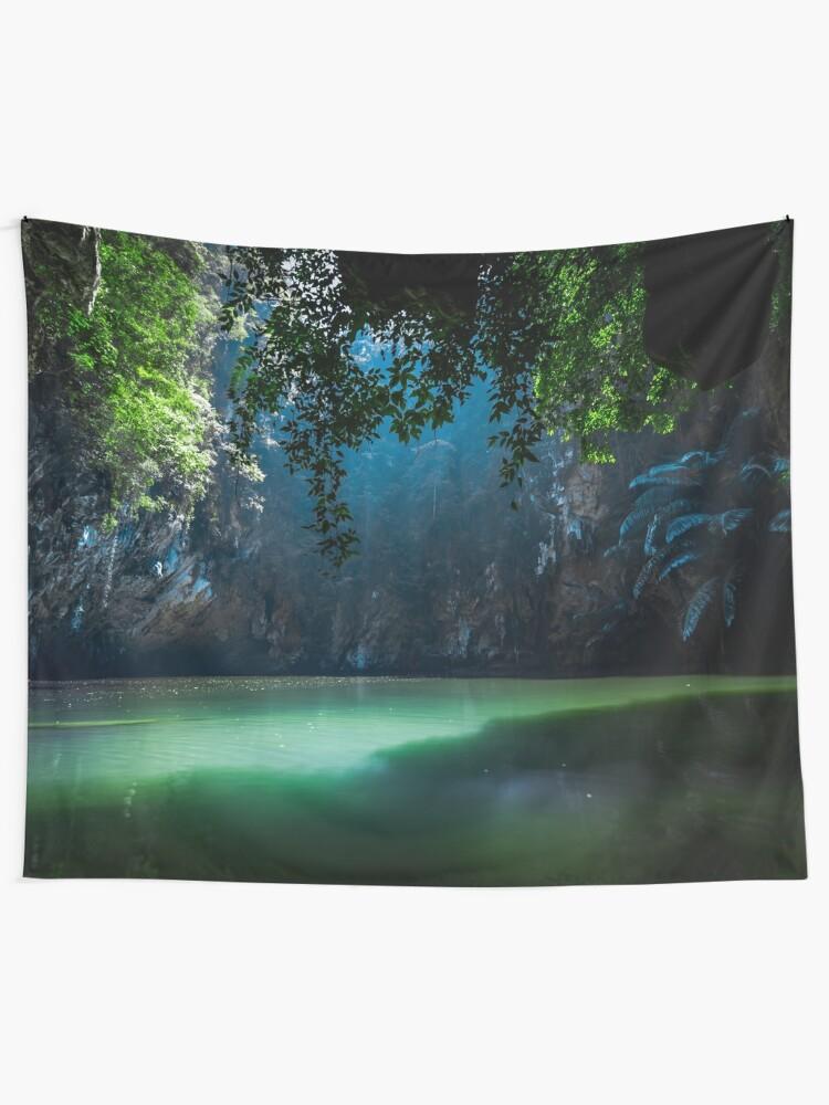 Alternate view of Lagoon Tapestry