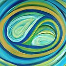 Yin & Yang | Abstract Oil Painting by Maria Meester
