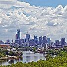 Philadelphia Skyline by Cheri Sundra