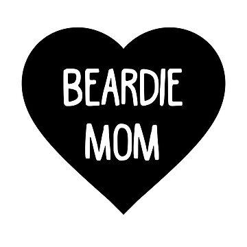 Bearded Dragon Mom T-Shirt by Blvckstar