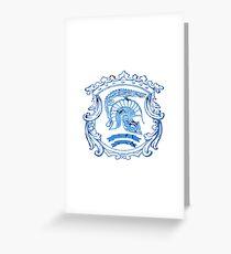 Sparta Greeting Card