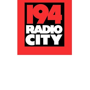 Radio City 194 Liverpool local independent radio logo by unloveablesteve