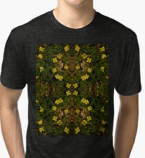 Tormentil in Shalwy Valley Tri-blend T-Shirt
