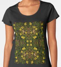 Tormentil in Shalwy Valley Women's Premium T-Shirt