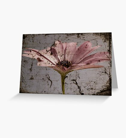 Tainted Beauty Greeting Card